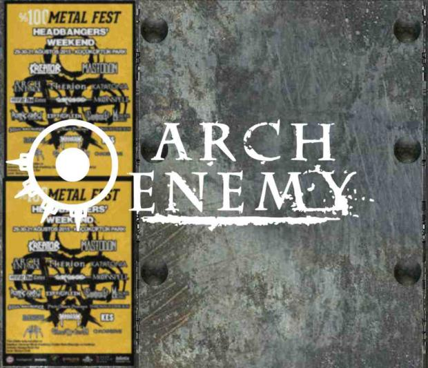 Arch Enemy in Istanbul