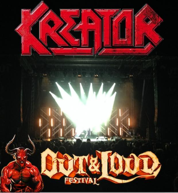 KREATOR beim OUT & LOUD Festival
