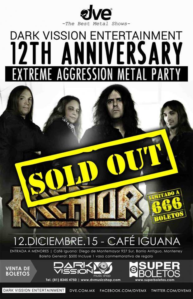 KREATOR december tour