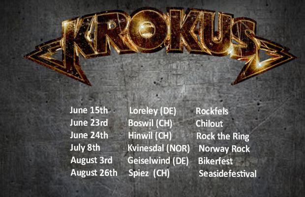 KROKUS Sommer Tour