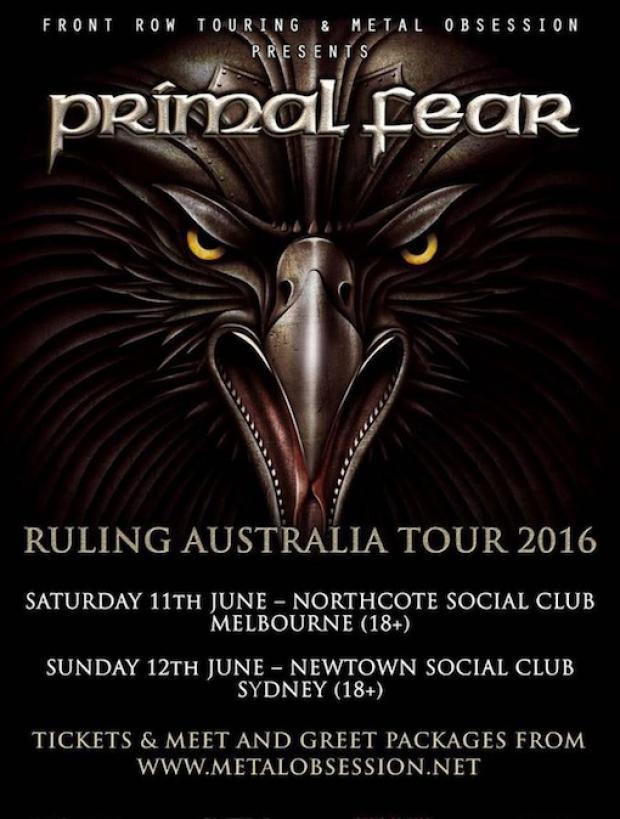 Primal Fear Australia