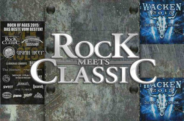 Rock Meets Classic beim Rock of Ages Festival und Wacken Open Air