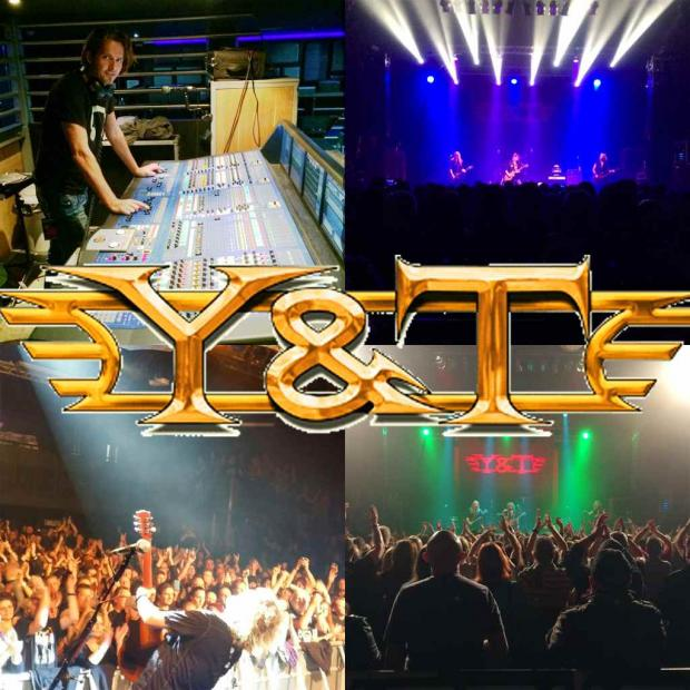FOH for Y&T on the european tour 2015